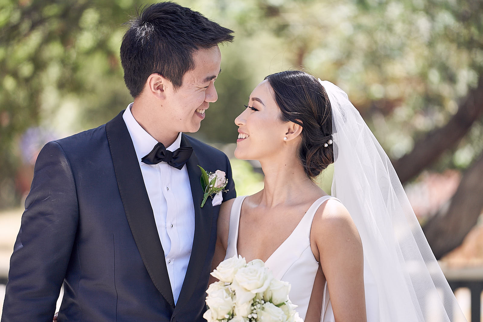 Classic Melbourne Vietnamese church wedding by Lost In Love Photography
