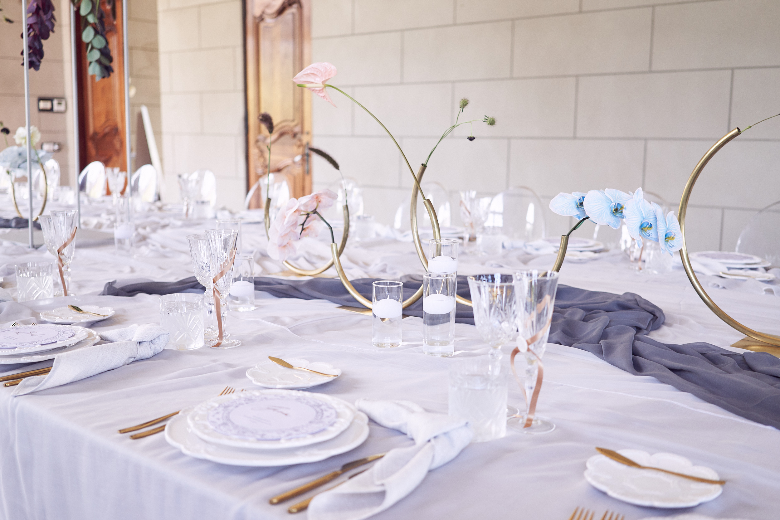 Campbell Point House wedding styling. Lost In Love Photography