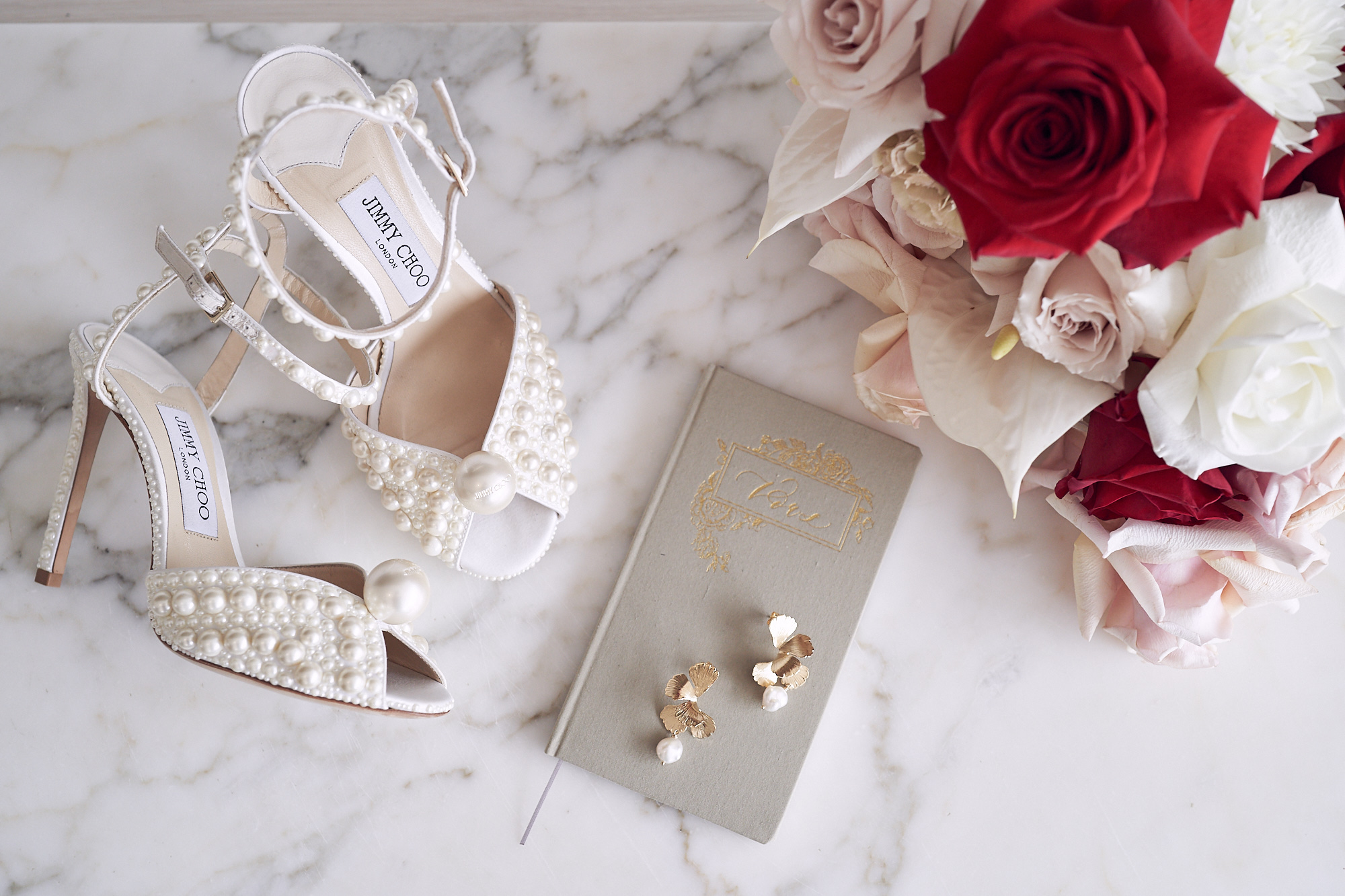 Jimmy Choo wedding shoes Stones Of The Yarra Valley Wedding photos by Lost In Love Photography
