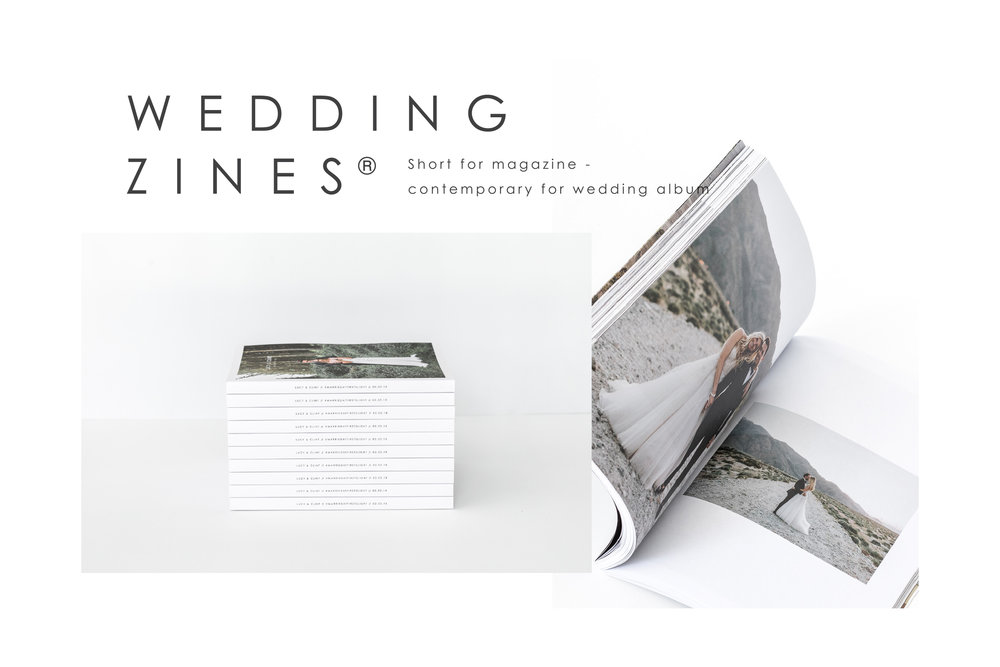 Wedding Zine by Bow and Arbour - lost in love photography
