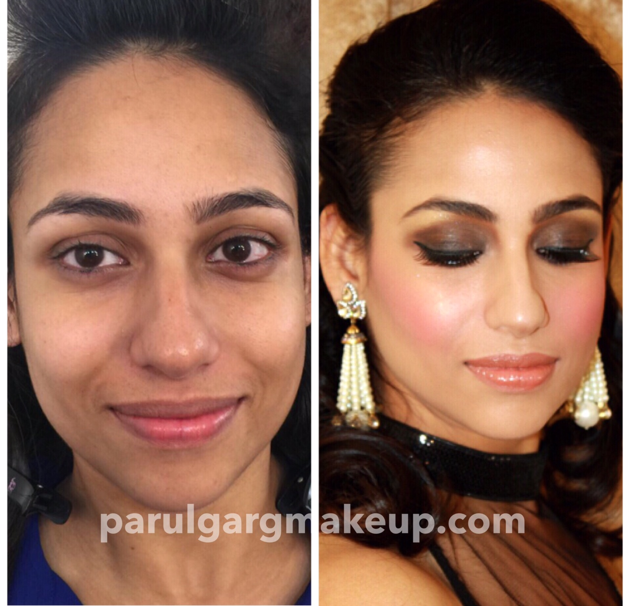 Party Makeupwith Airbrush