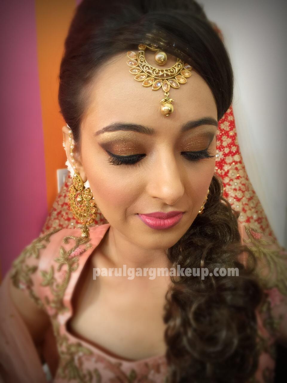 Engagement Makeup by Parul Garg