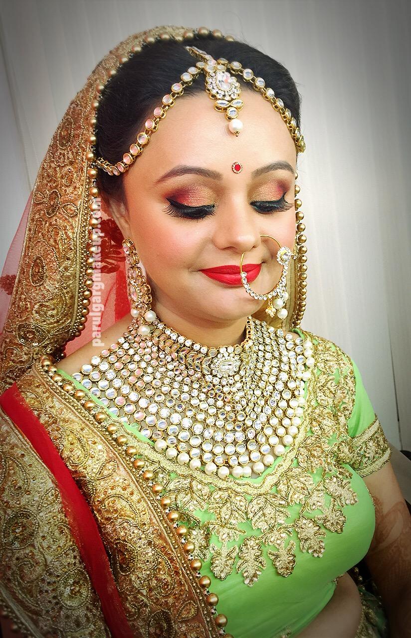 Indian Bridal Makeup by Parul Garg