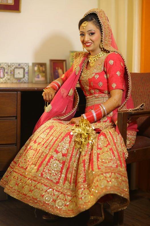 Sikh Bridal Makeup by Parul Garg