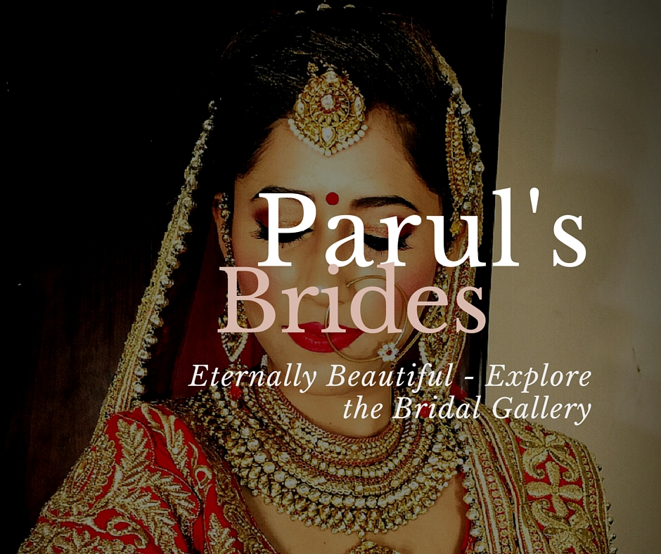 Look your Best on perhaps the most important day of your life. Parul's Bridal Makeup encompasses the true spirit of marriage. From Subtle undertones to bold eyes, Parul understands what the bride to be wants on her special day and customizes the makeup so that her every bride looks a class apart.   Explore Parul's Bridal Makeup Gallery here!