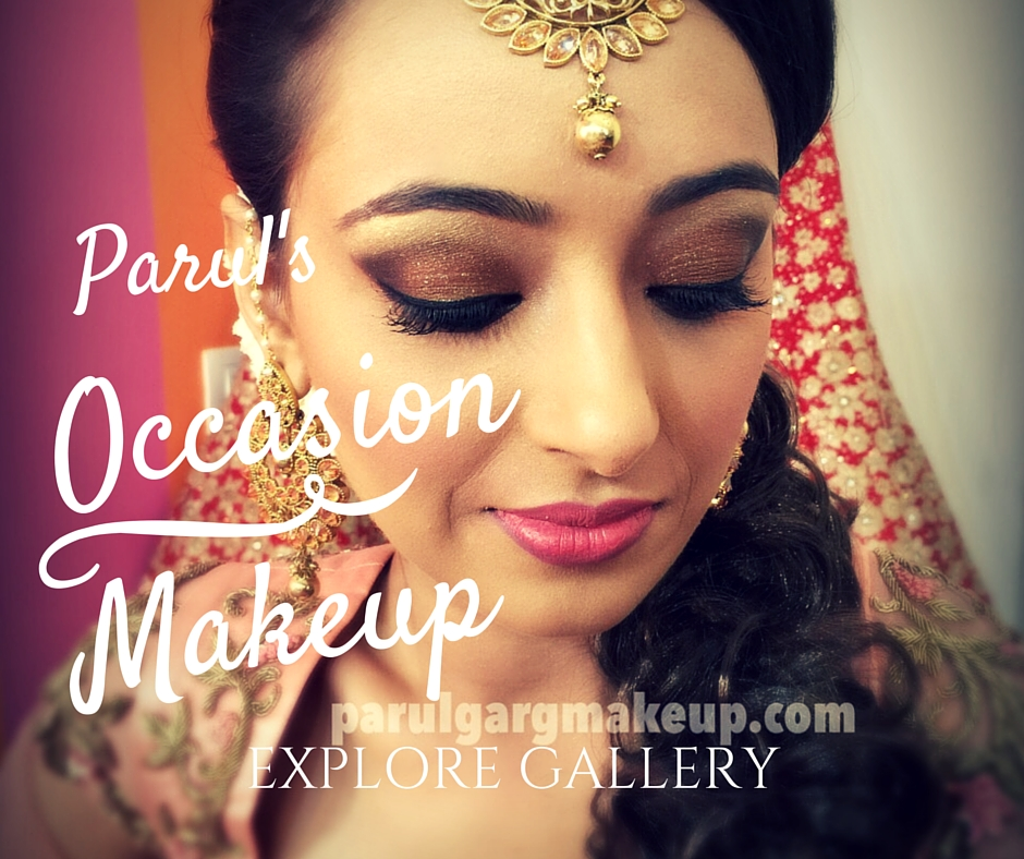 Getting Engaged? Or it's your Mehndi? Or you are looking to glam up for your reception? Parul's Occasion Makeup will ensure you look the most beautiful and be the centre of attraction on your special Day.  Explore Parul's Special Occasion Makeup in this Gallery.