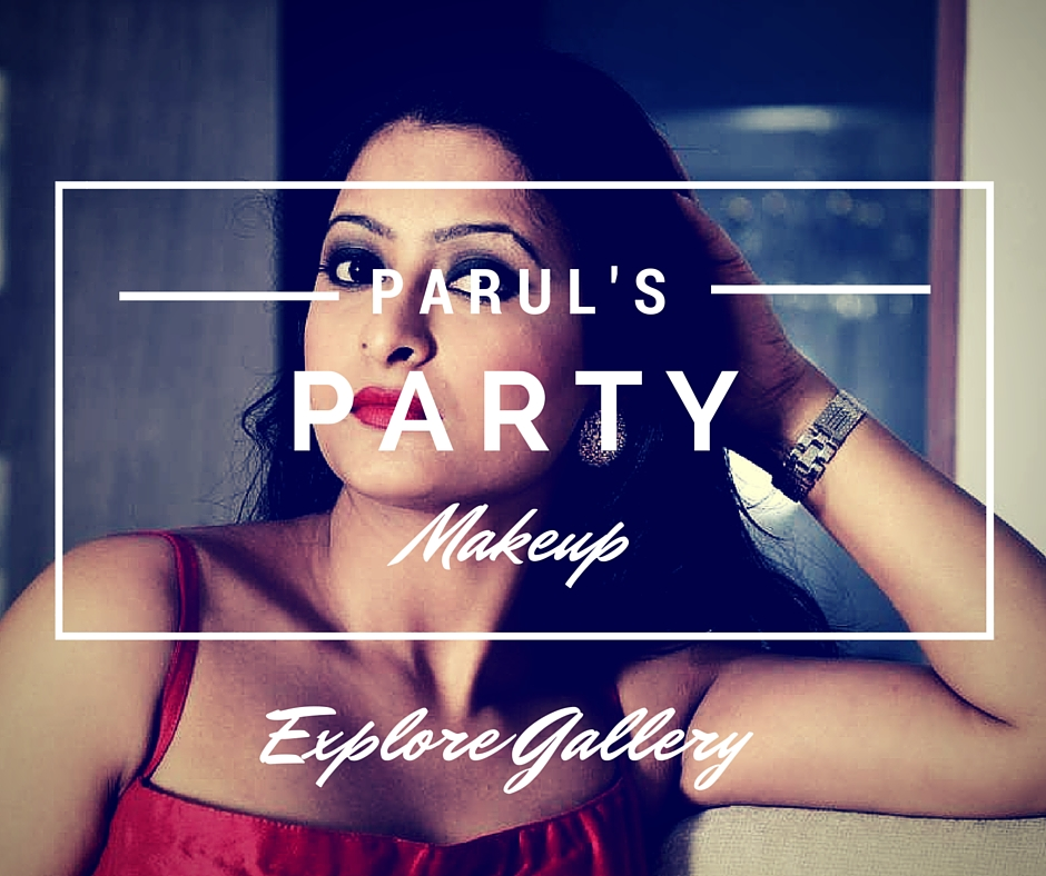 It's Party Time. Is someone close to you getting married? Or perhaps you want to look really hot at a Cocktail Party? Parul will give you the perfect look to suit any occasion or event you are attending. Get your glamour quotient through the roof.  Explore Parul's Party Makeup Gallery.