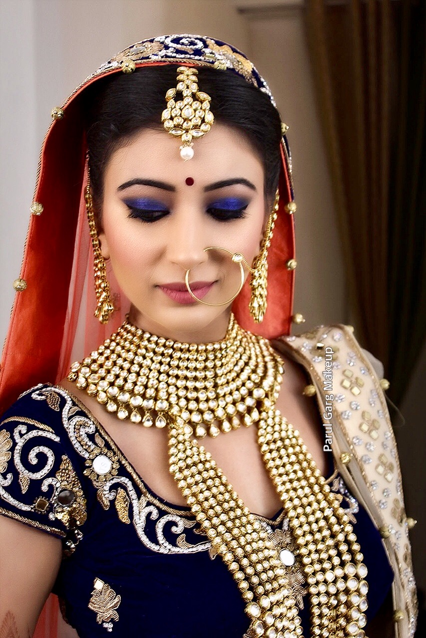 Non Traditional Indian Bridal Makeup by Parul Garg