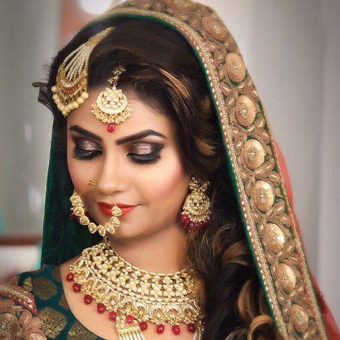 Muslim Bridal Makeup by Parul Garg