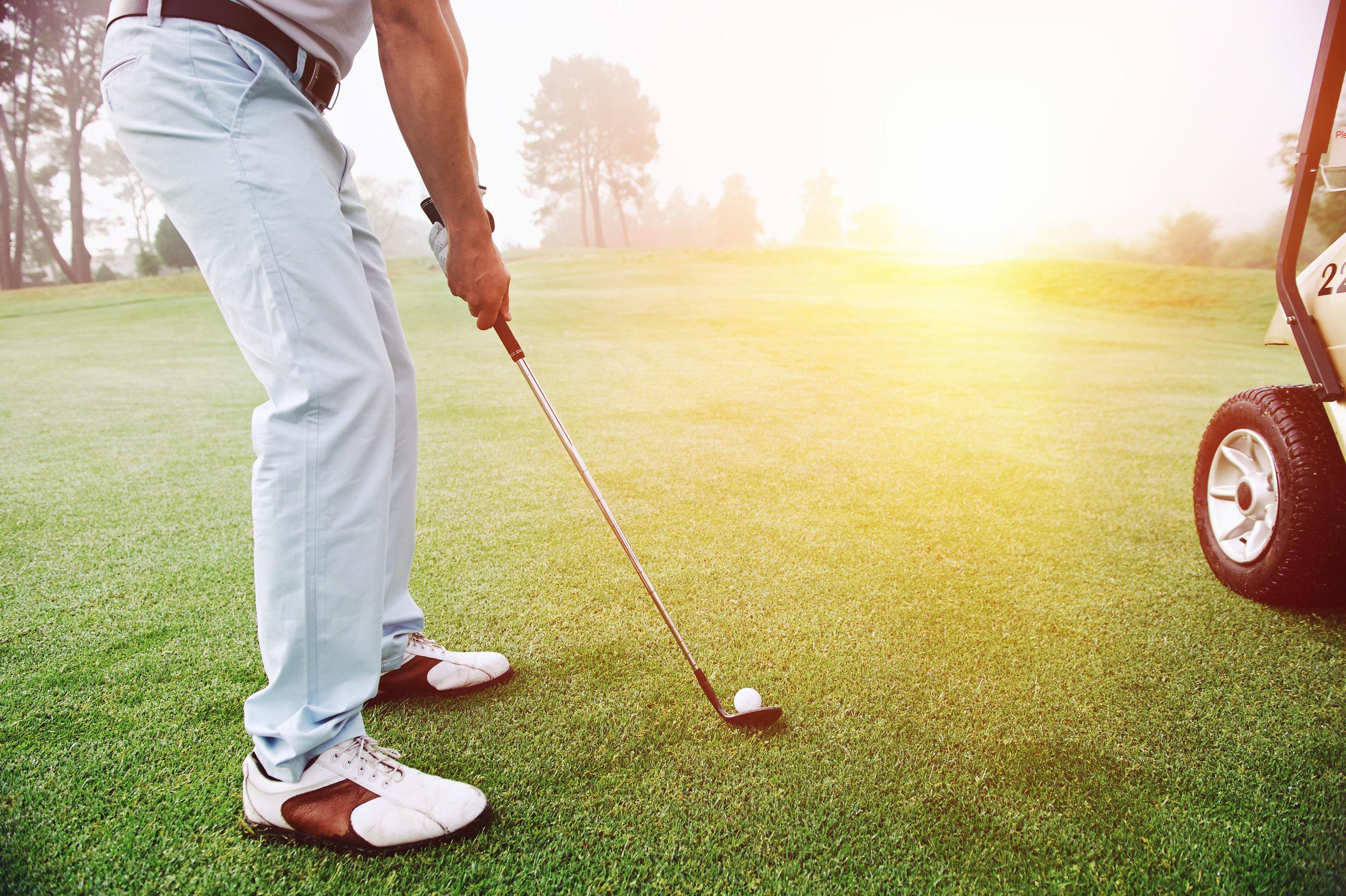 Montgomery golfer