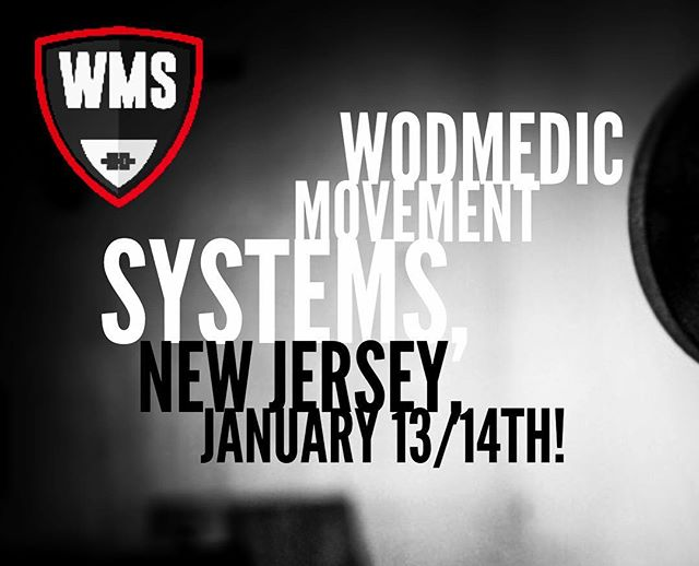 Good news, we'll be heading back to New Jersey for another WODMedic seminar in less than 3 months!  If you missed out the first time, here's your chance!  Also, if you know of a gym that might be interested in hosting a Fall/Winter 2017 Course we have opened up 3 more dates! Shoot us a message for details on hosting! #crossfit #crossfitbox #crossfitaffiliate #functionalfitness #fitnesscoach #wod ##wodmedic #wodigy #mobility #mastery #dptstudent #physicaltherapy #chiropractor