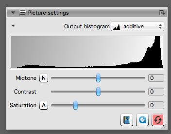 """Watch the right side of the histogram when adjusting the """"Tolerance Slider"""""""