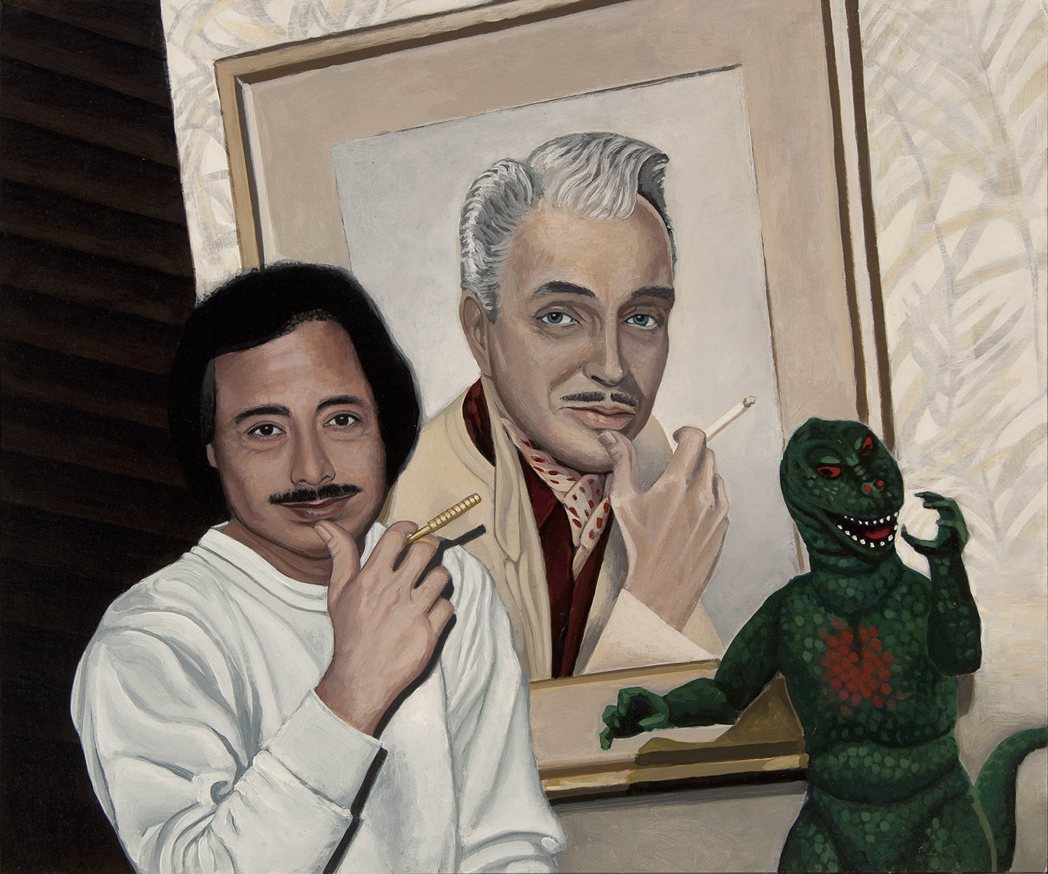"""George, Ralph and Godzilla"""