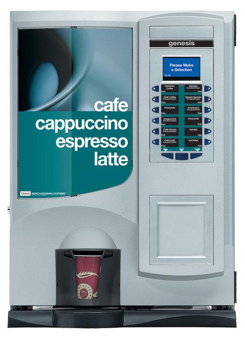 Genesis — Crane Merchandising Systems - Vending Machine