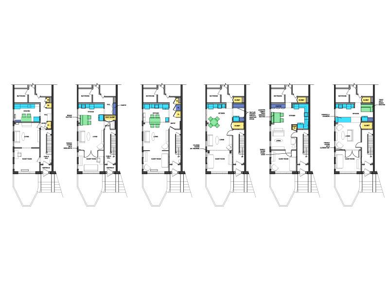 Plan options for a kitchen renovation
