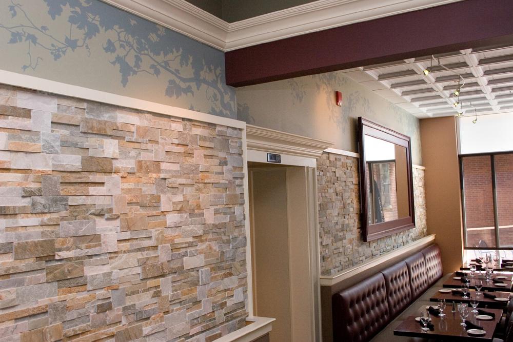 Salute Restaurant Mural Vines