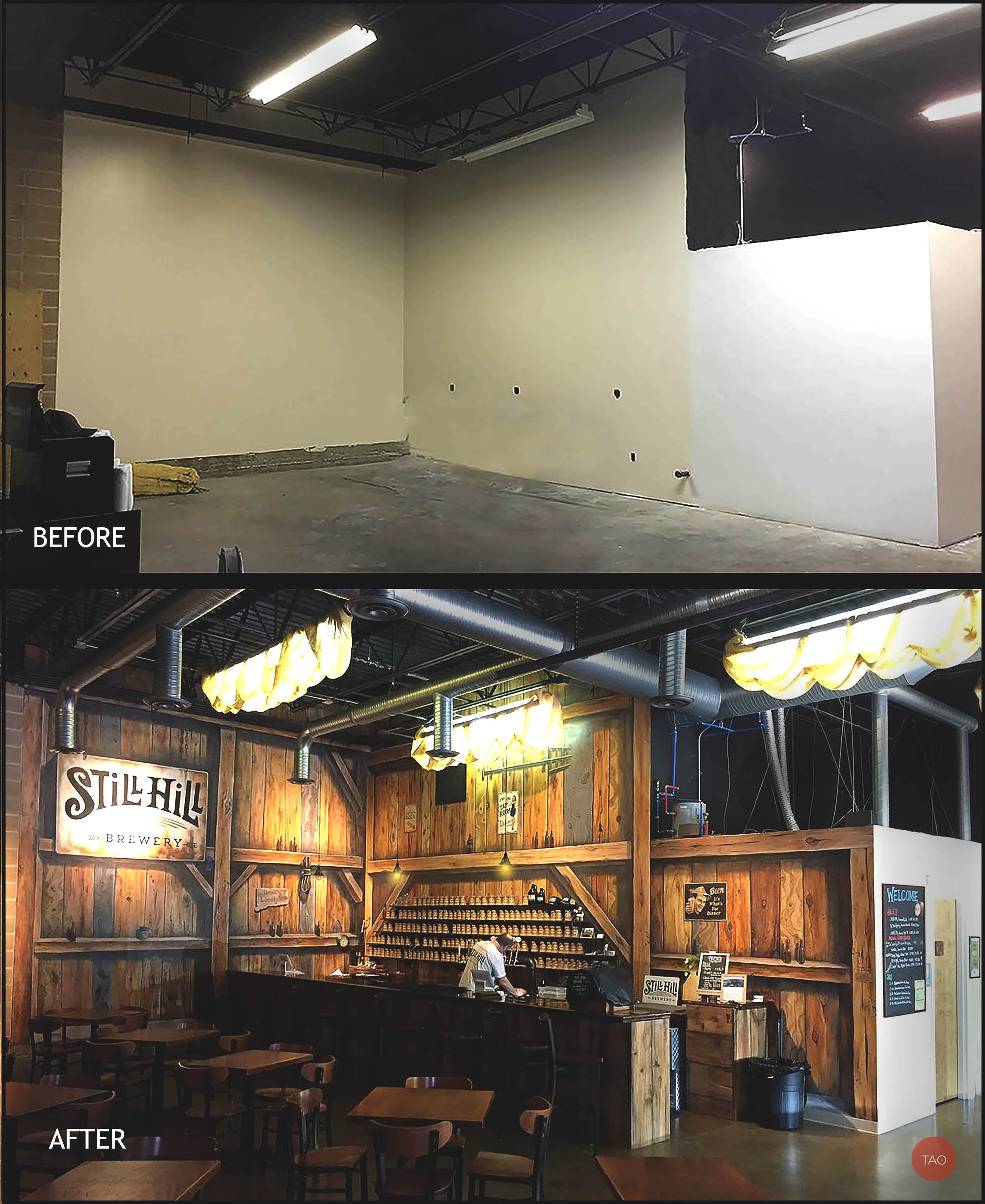 """Here's how we transform spaces. See video below for the """"making of..."""""""