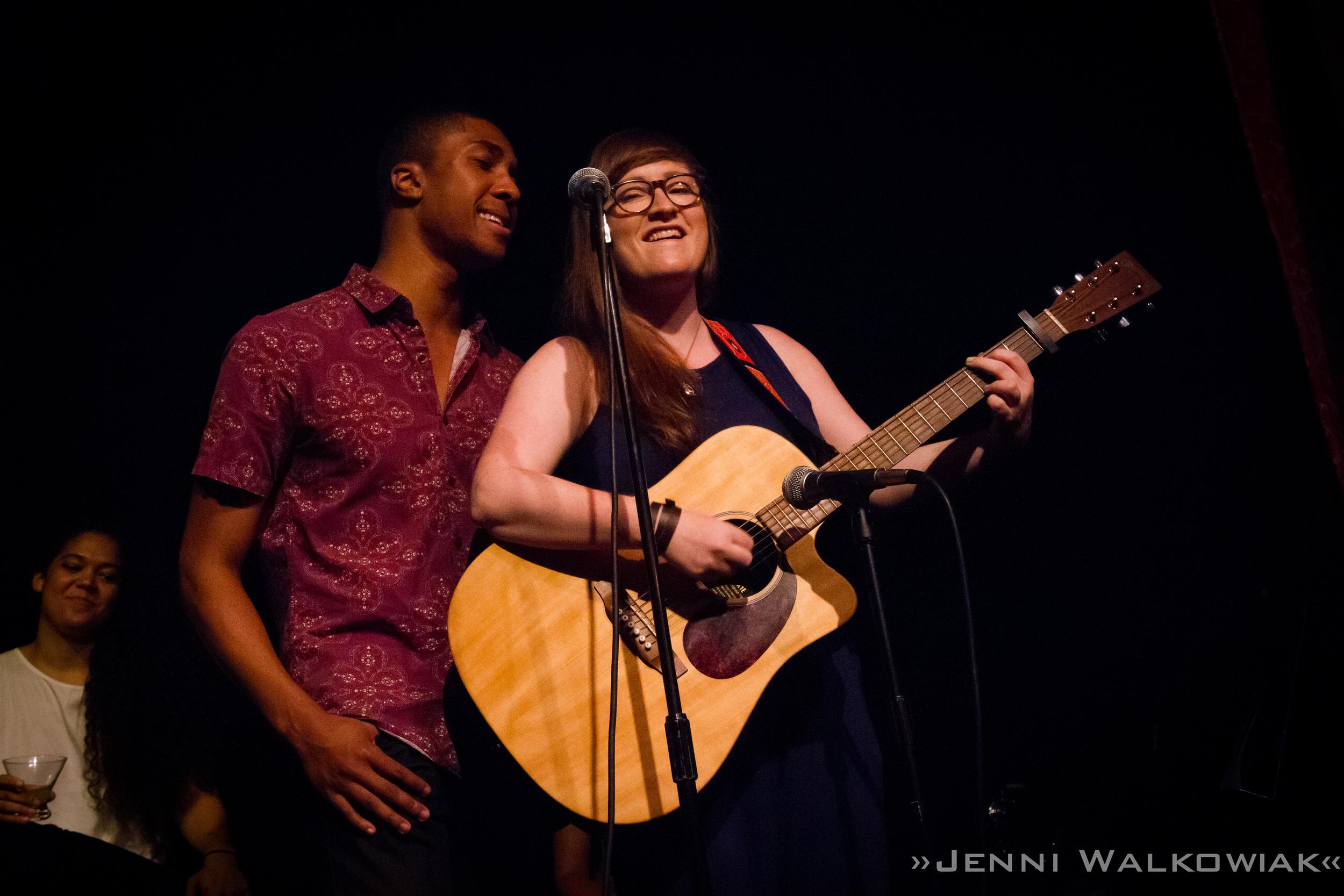 Godspell Cabaret at the Triad, NYC (right)