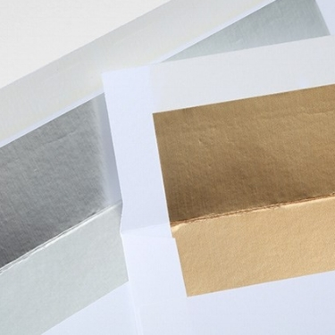 Silver-Lined & Gold-Lined Envelopes