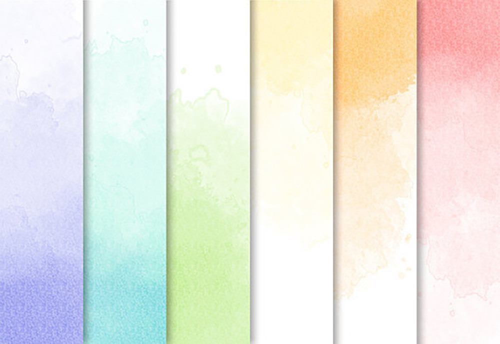 Ombre Watercolor