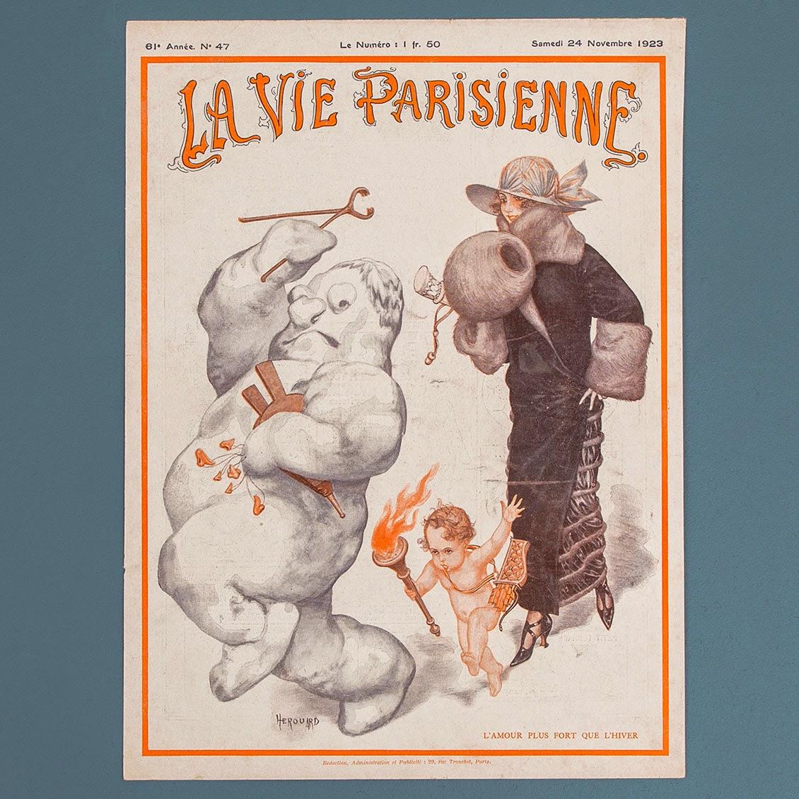Illustration La Vie Parisienne - Le Petit Florilège