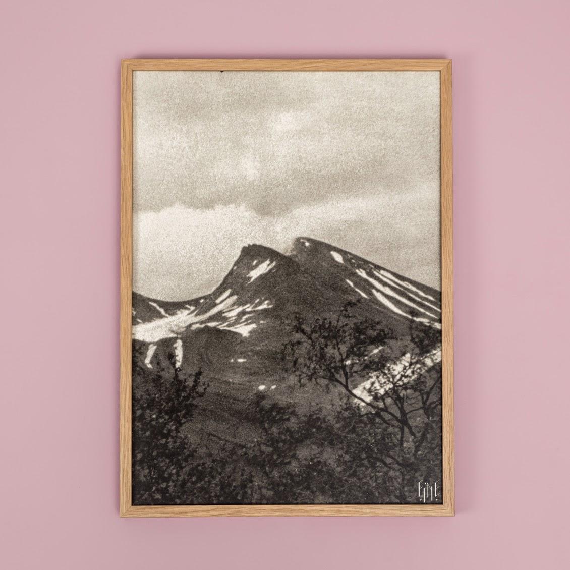 Affiche Montagne Fine Little Day - Le Petit Florilège