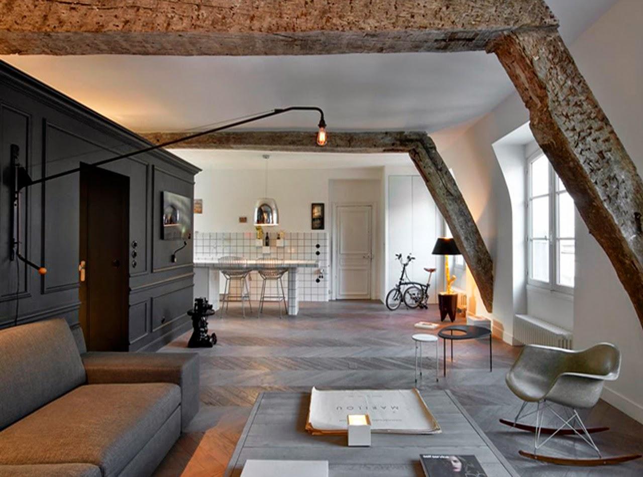 Appartement parisien par Marie Deroudilhe
