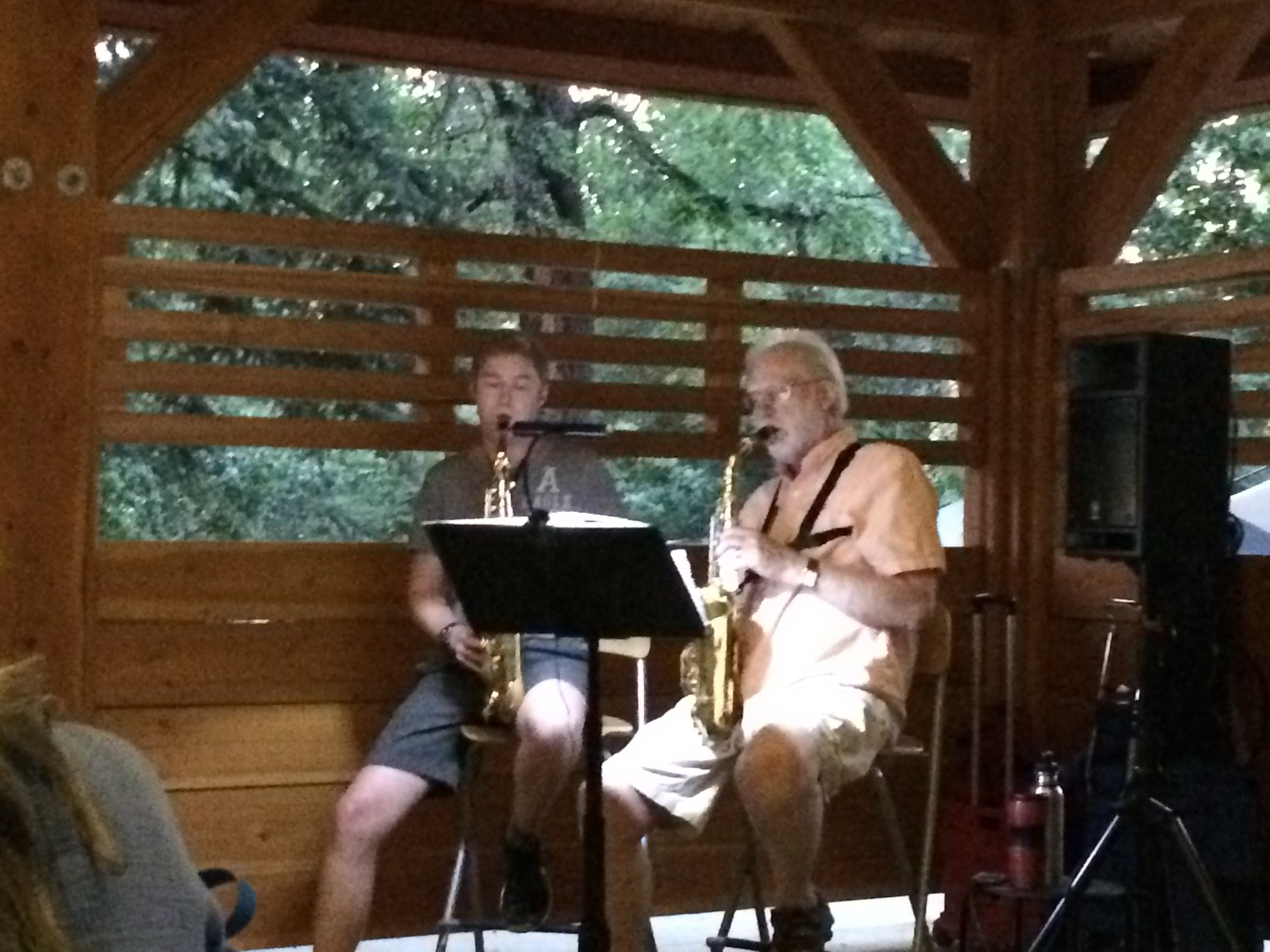 Tuesday evening Jazz Concert with Don Wade and Ross Thompson