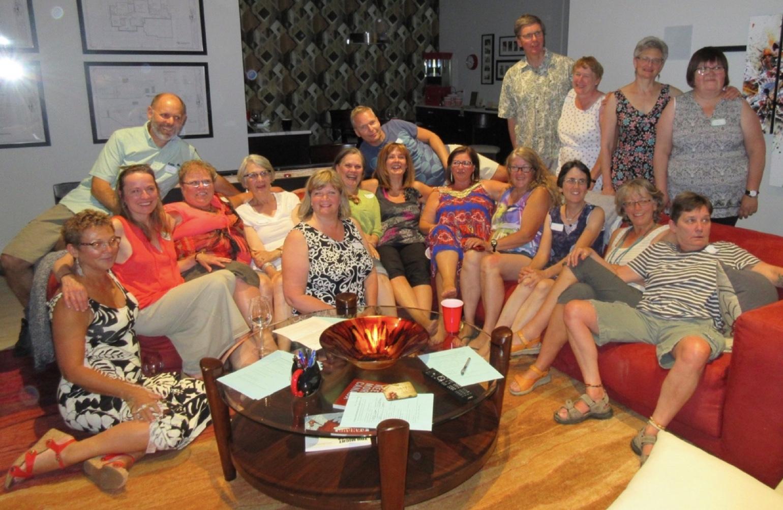 Friday evening gathering in Kelowna
