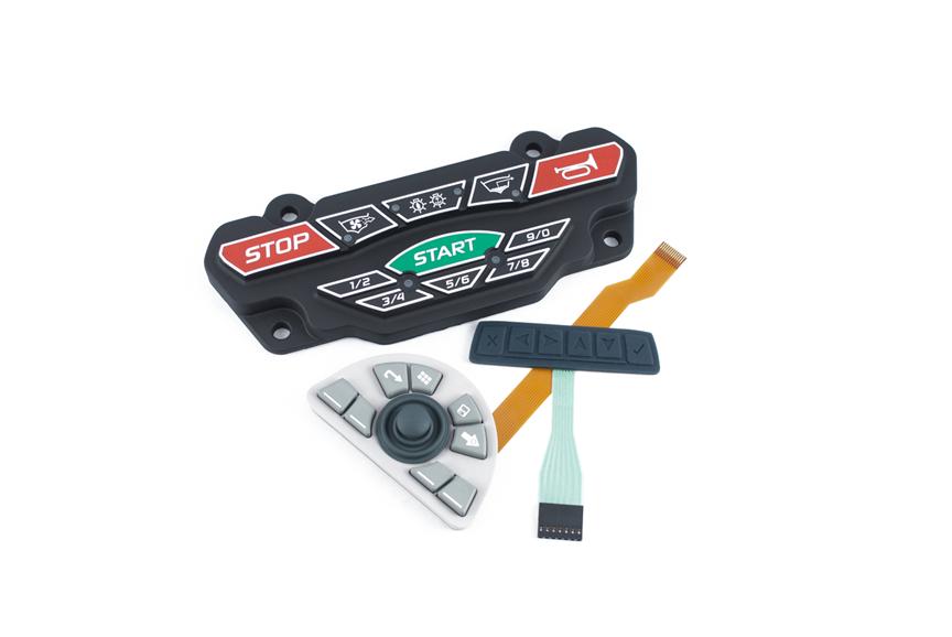Xymox-Rubber Keypads