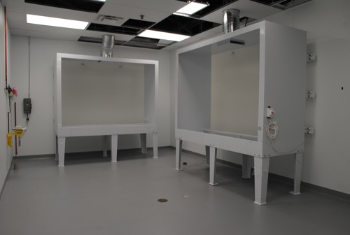 New and improved screen washout room!