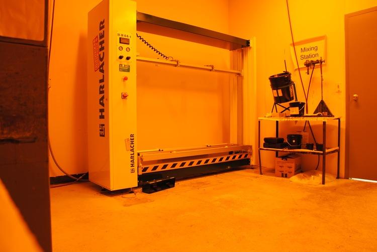 New Harlacher machine to keep Xymox capabilities high!