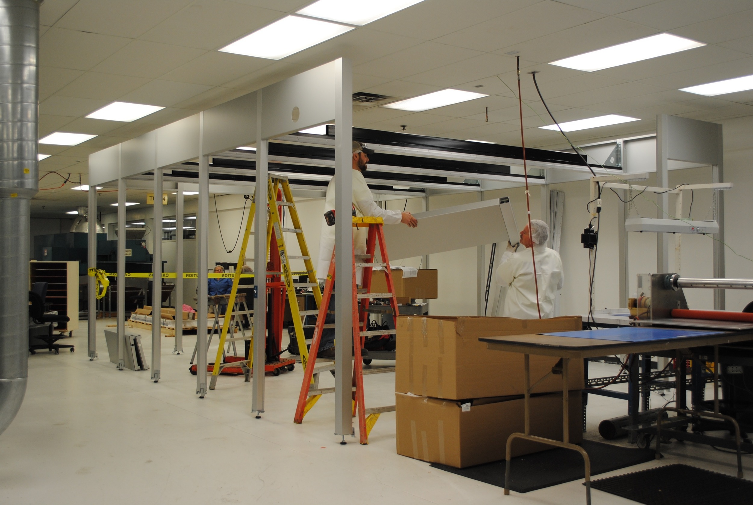 Building the Clean Room