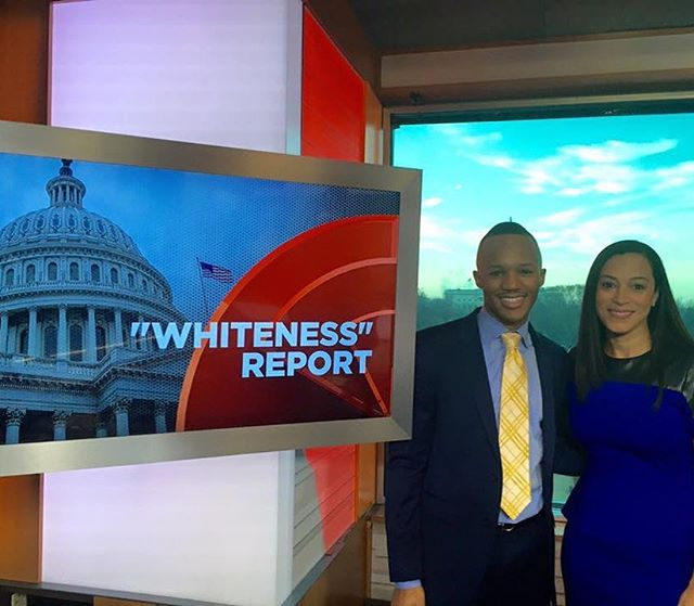 throwback pic from when I was on @newsone_official with @angelarye to discuss my policy paper on senate staff diversity in 2015
