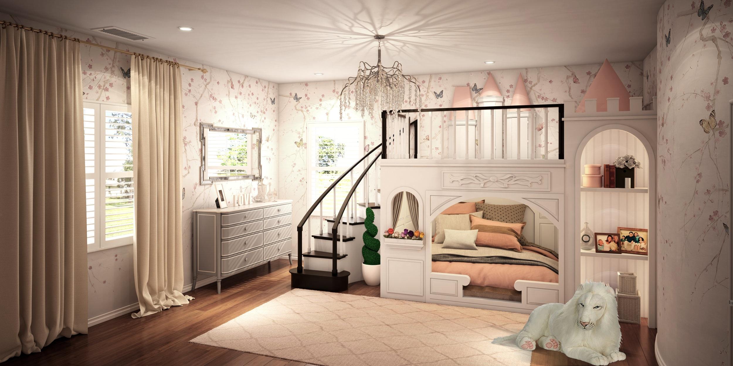 Ava's Castle Bedroom