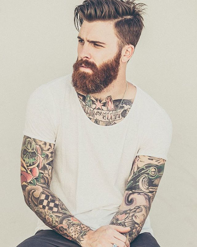 Fact: Everyday is better with a beard.