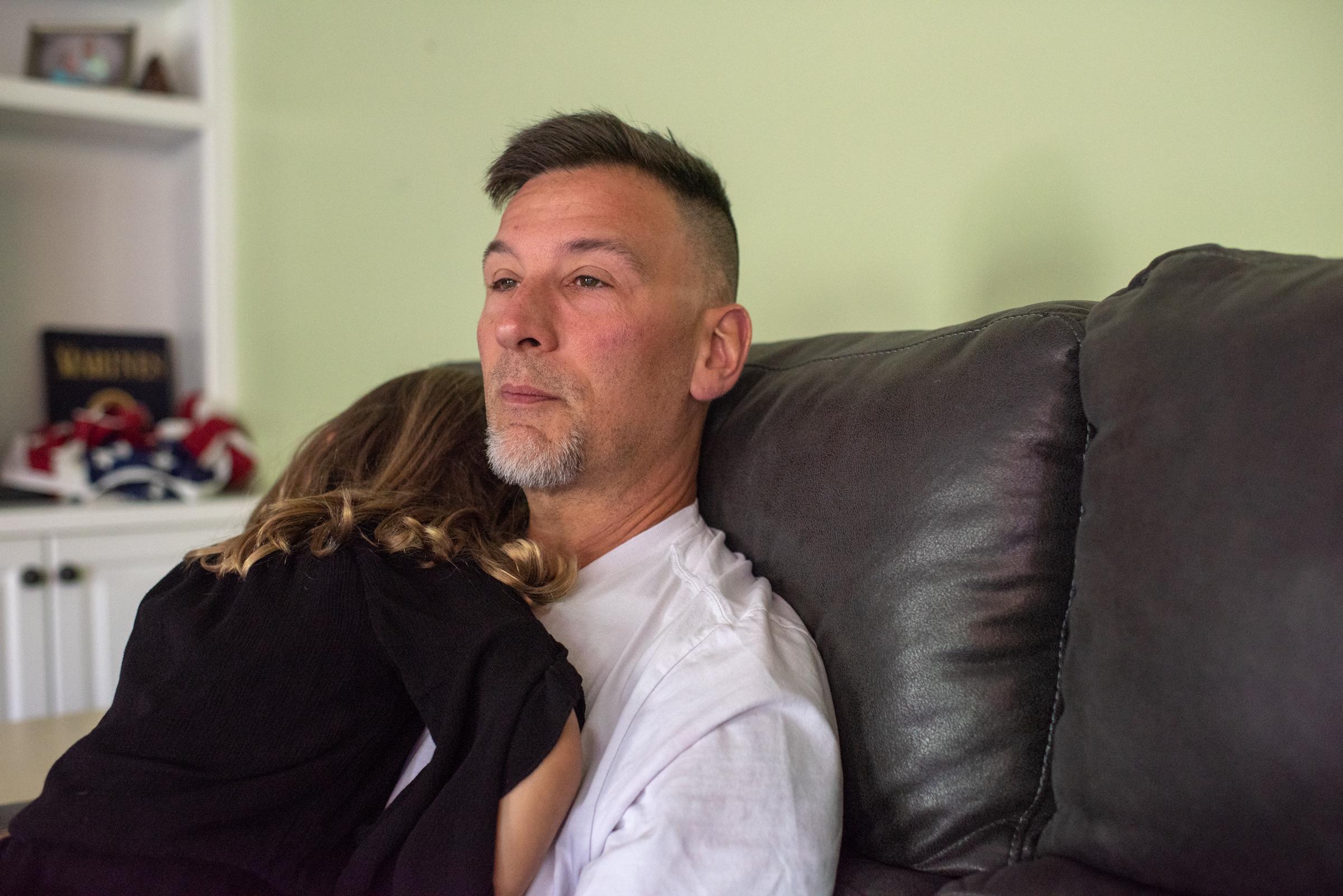gun violence survivor and family