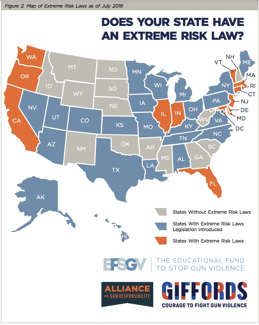 Image from the Alliance for Gun Responsibility     Extreme Risk Laws Toolkit