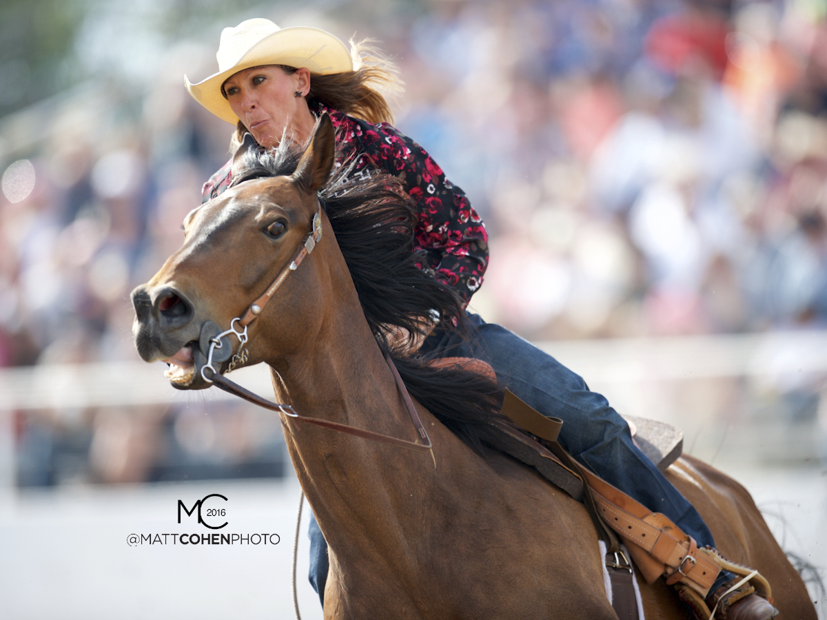2016 WNFR: Wrangler National Finals Rodeo Qualifiers: Barrel Racing #11 Pamela Capper