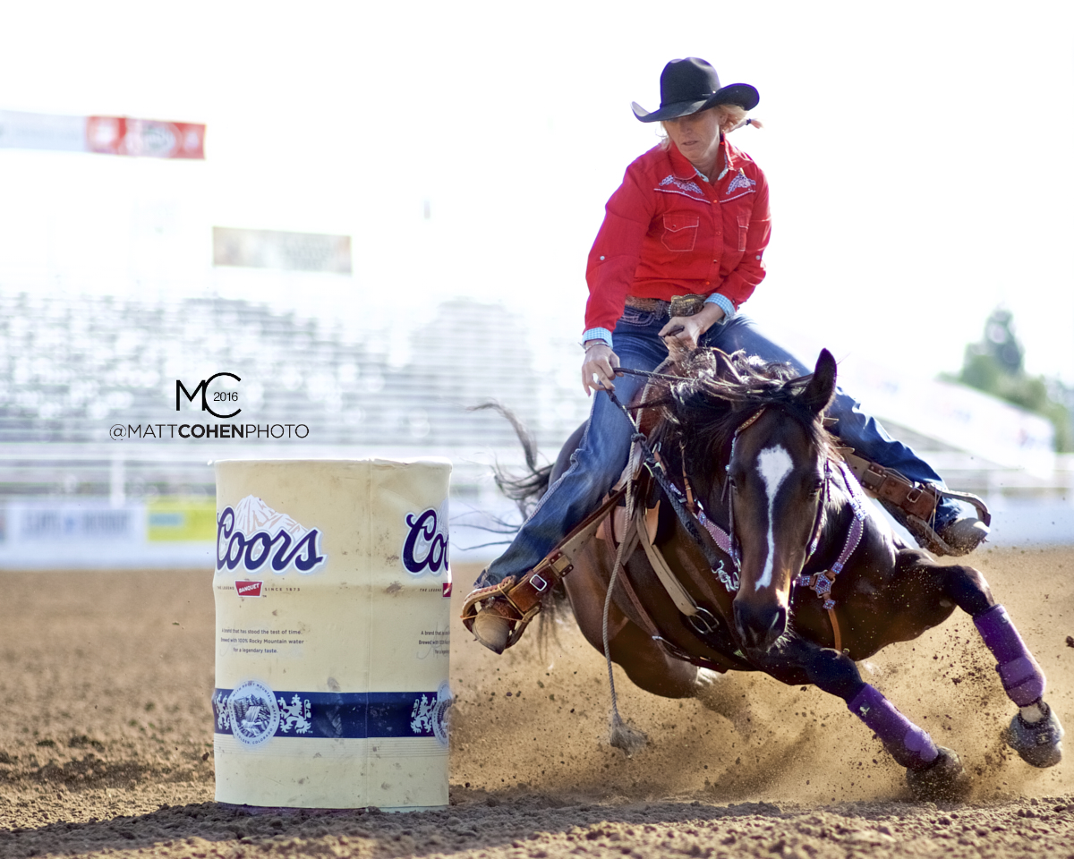2016 WNFR: Wrangler National Finals Rodeo Qualifiers: Barrel Racing #15 Amber Moore