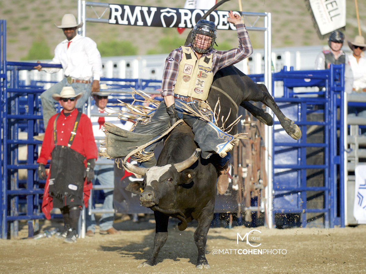 2016 WNFR: Wrangler National Finals Rodeo Qualifiers: Bull Riding #2 Joe Frost