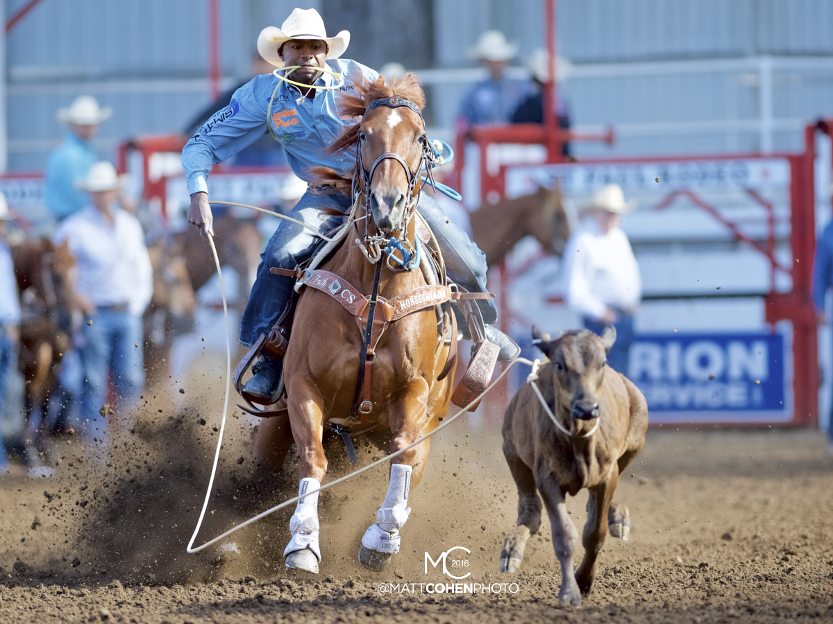2016 WNFR: Wrangler National Finals Rodeo Qualifiers: Tie-Down Roping #4 Cory Solomon