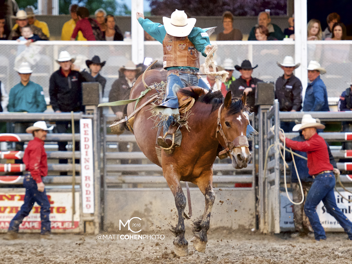 2016 WNFR: Wrangler National Finals Rodeo Qualifiers: Saddle Bronc #15 Jake Watson