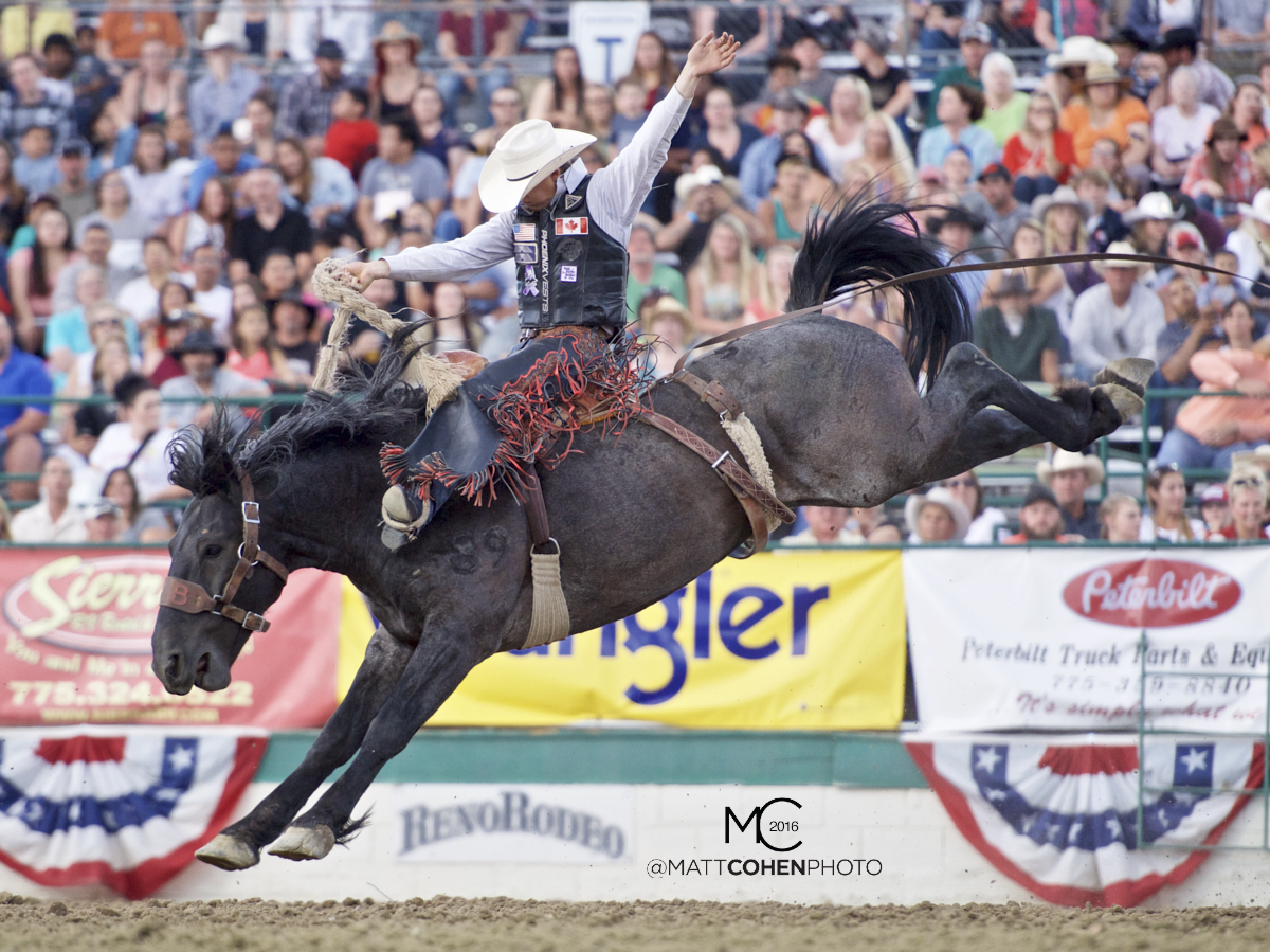 2016 WNFR: Wrangler National Finals Rodeo Qualifiers: Saddle Bronc #4 Zeke Thurston