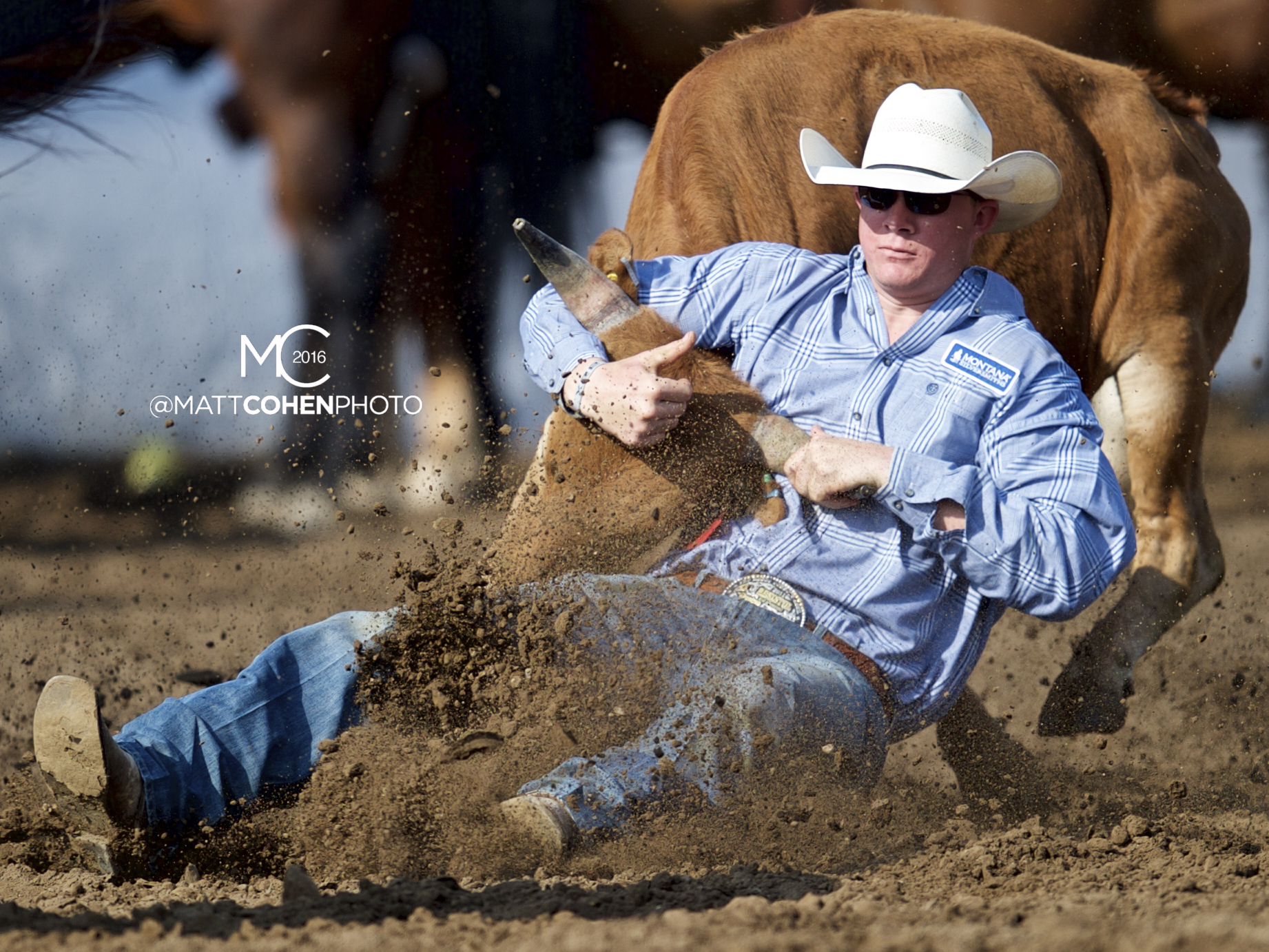 2016 WNFR: Wrangler National Finals Rodeo Qualifiers: Steer Wrestling #1 Ty Erickson