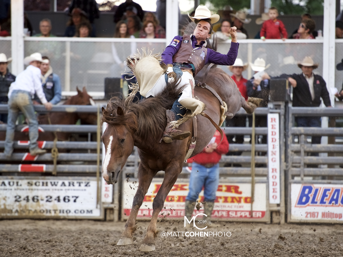 2016 WNFR: Wrangler National Finals Rodeo Qualifiers: Bareback #9 Jake Brown