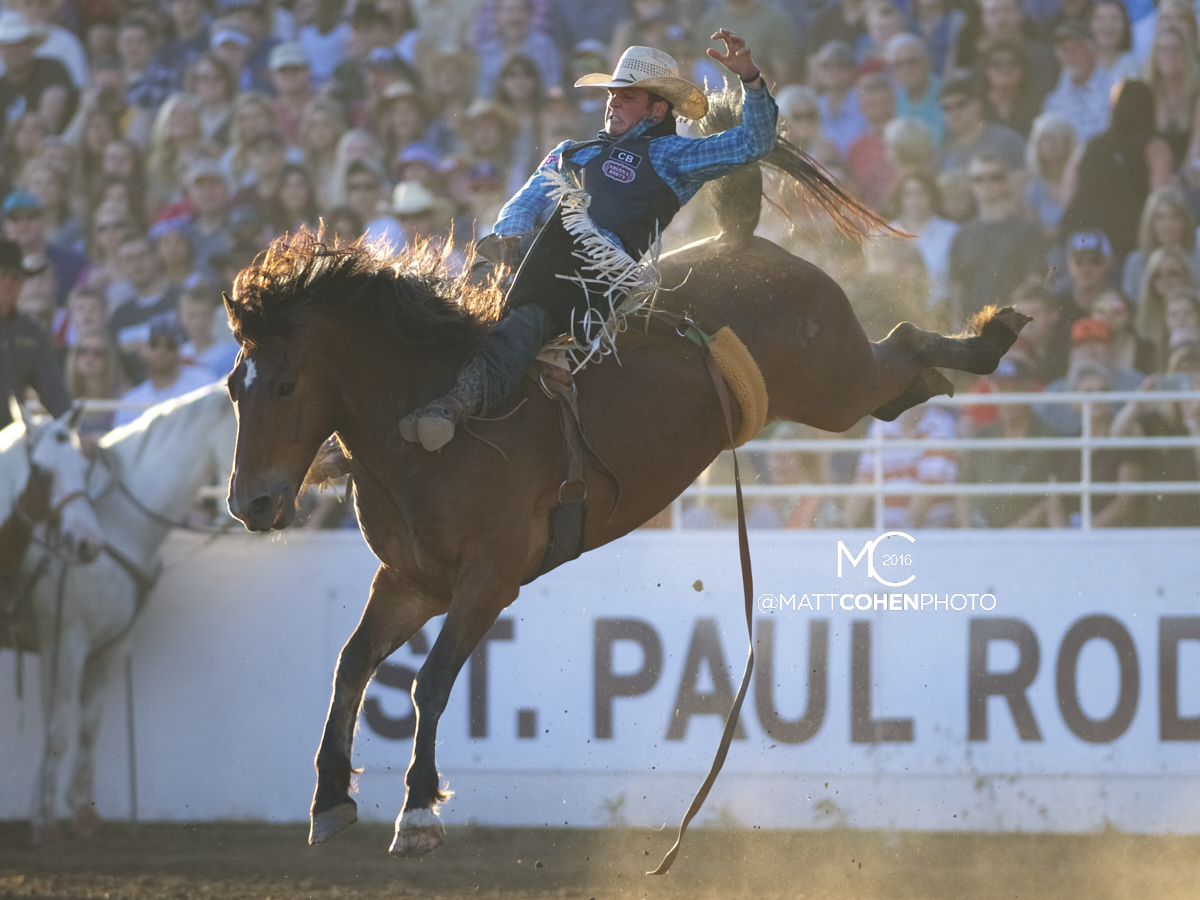 2016 WNFR: Wrangler National Finals Rodeo Qualifiers: Bareback #13 Richmond Champion