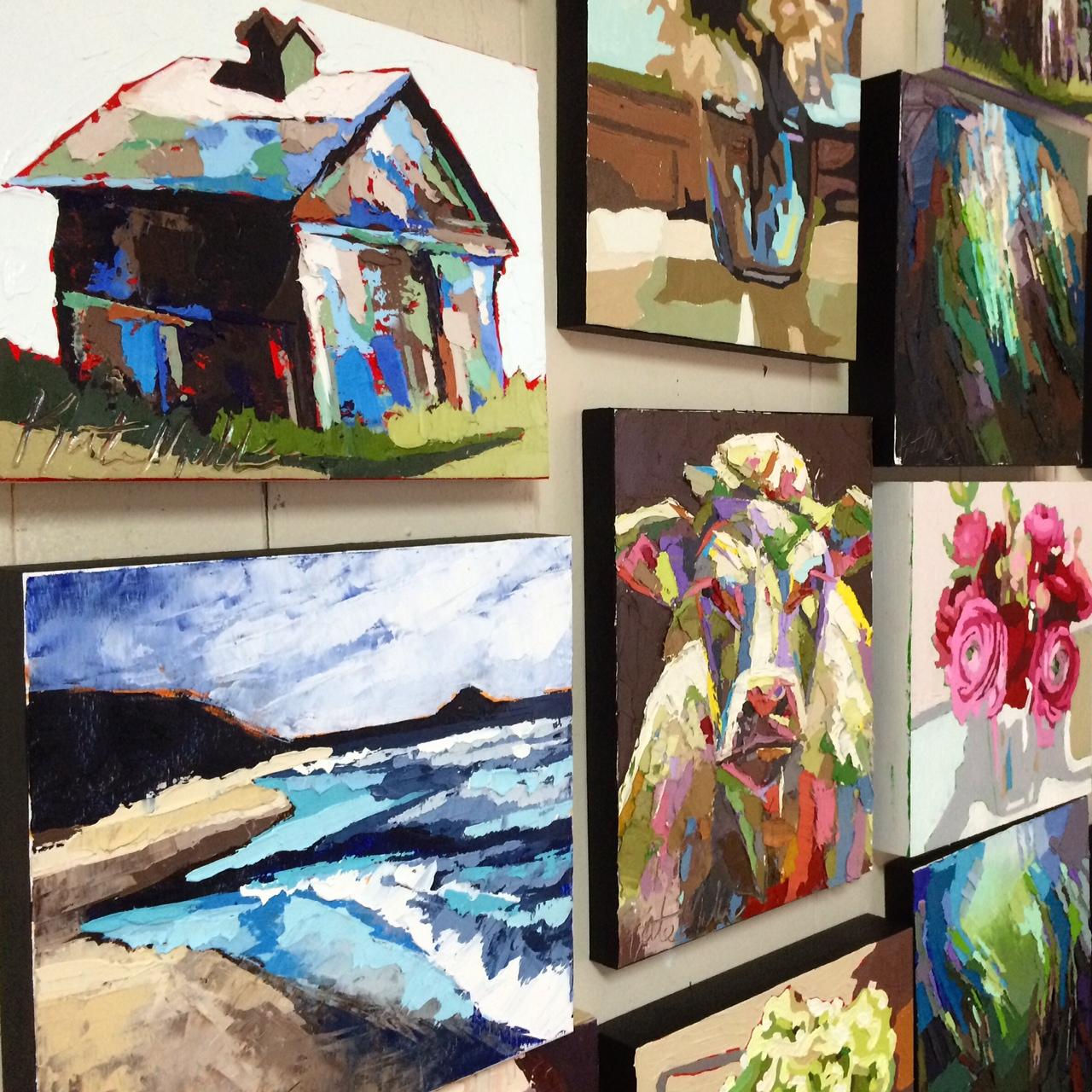 Kate Mullin Artwork Oil Paint