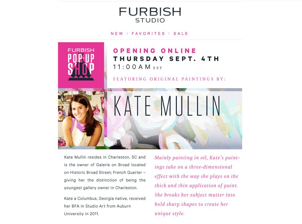 Kate Mullin Art on Furbish Studio