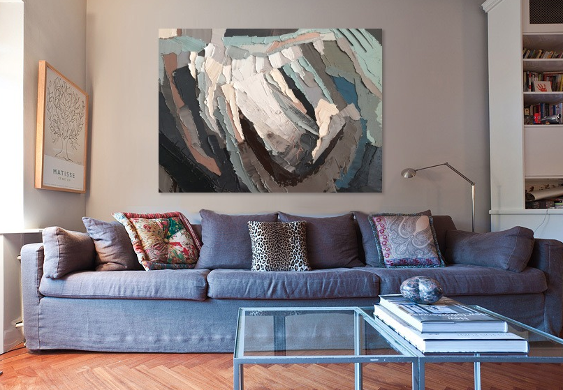 Abstract Painting by Kate Mullin
